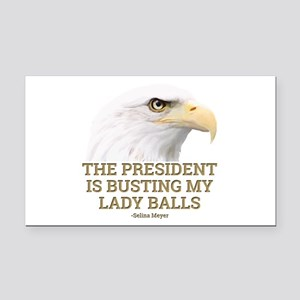 VEEP: Lady Balls Rectangle Car Magnet