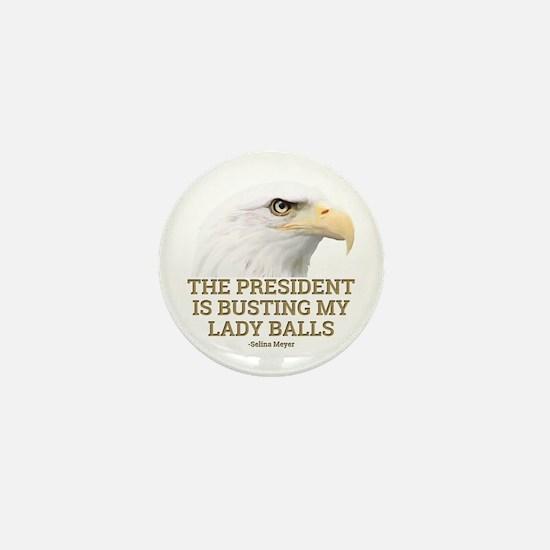 VEEP: Lady Balls Mini Button