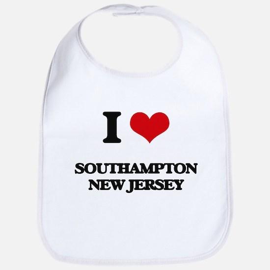 I love Southampton New Jersey Bib