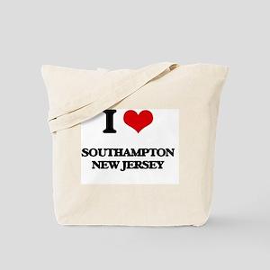 I love Southampton New Jersey Tote Bag