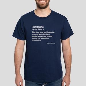 Rendering Dark T-Shirt
