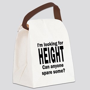 10x10LookingHeight-TBG Canvas Lunch Bag