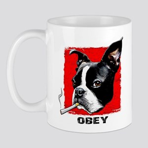 Obey Boston Mug