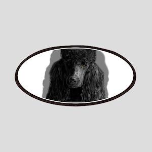 black standard poodle Patch