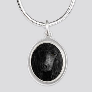 standard poodle black Necklaces