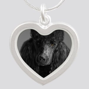 standard poodle black Necklaces