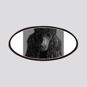 standard poodle black Patch