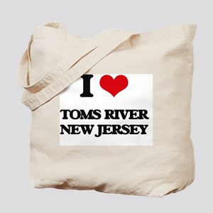 I love Toms River New Jersey Tote Bag
