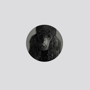 standard poodle black Mini Button