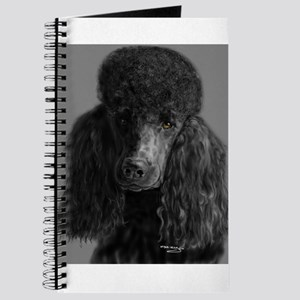 standard poodle black Journal