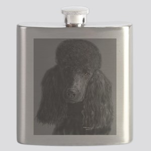 standard poodle black Flask