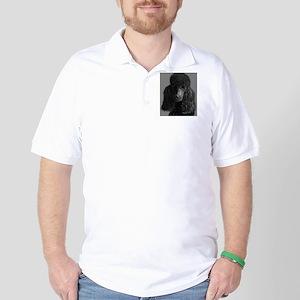 standard poodle black Golf Shirt