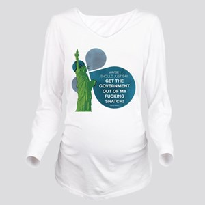 VEEP: Get The Govern Long Sleeve Maternity T-Shirt