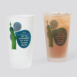 VEEP: Get The Government Out Drinking Glass