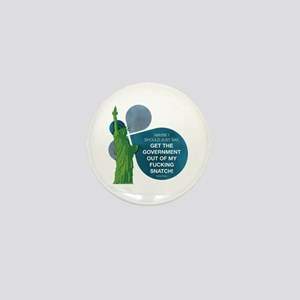 VEEP: Get The Government Out Mini Button