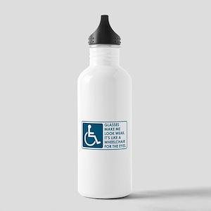 VEEP: Glasses Stainless Water Bottle 1.0L