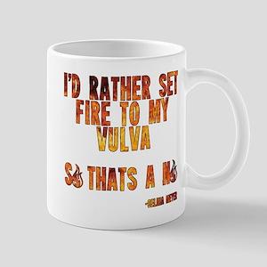 VEEP: Fire Vulva Mug