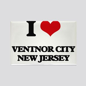 I love Ventnor City New Jersey Magnets