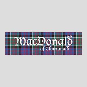 Tartan-MacDonald of Clanranald 36x11 Wall Decal