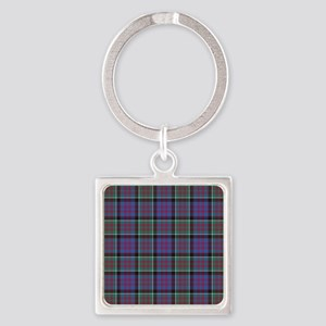 Tartan-MacDonald of Clanranald Square Keychain