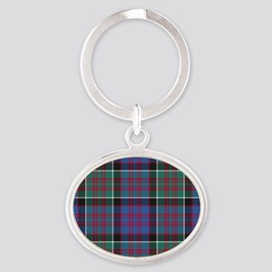 Tartan-MacDonald of Clanranald Oval Keychain