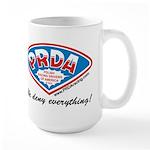 PRDA Polish Racing Drivers of America Large Mug