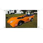 PRDA Peter Revson McLaren Mk-8F Banner