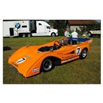 PRDA Peter Revson McLaren Mk-8F Large Poster