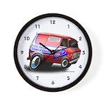 PRDA Cannonball Run Van Wall Clock