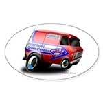 PRDA Oval Sticker (10 pk)