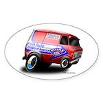 PRDA Oval Sticker (50 pk)