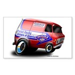 PRDA Rectangle Sticker 50 pk)