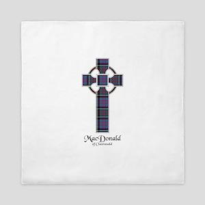 Cross-MacDonald of Clanranald Queen Duvet