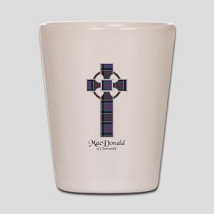 Cross-MacDonald of Clanranald Shot Glass