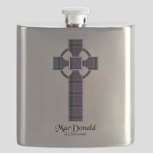 Cross-MacDonald of Clanranald Flask