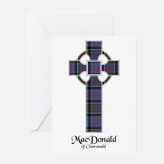 Cross-MacDonald of Clanranald Greeting Card