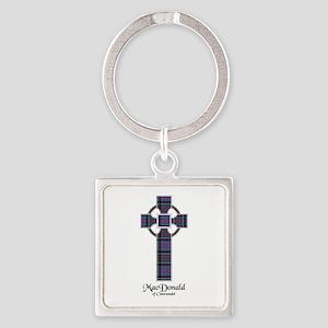 Cross-MacDonald of Clanranald Square Keychain
