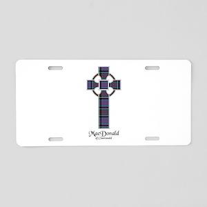 Cross-MacDonald of Clanrana Aluminum License Plate