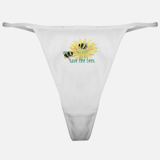Save the Bees Classic Thong