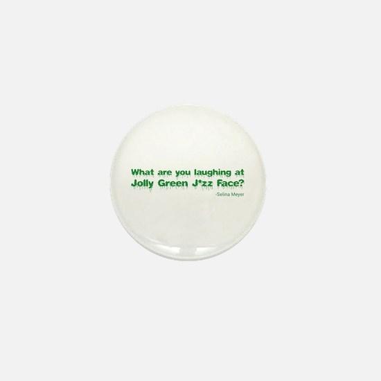 VEEP: Jolly Green Face Mini Button