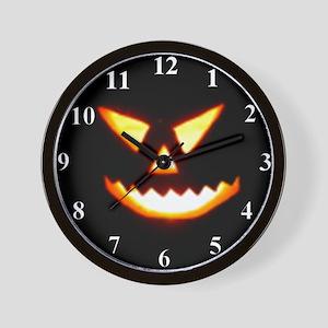 Punkin Face Wall Clock