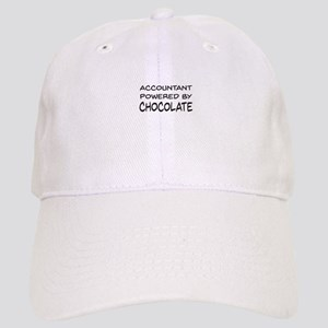 Accountant Powered By Chocolate Baseball Cap