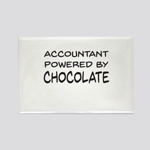 Accountant Powered By Chocolate Magnets