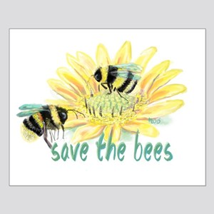 Save the Bees Poster Design