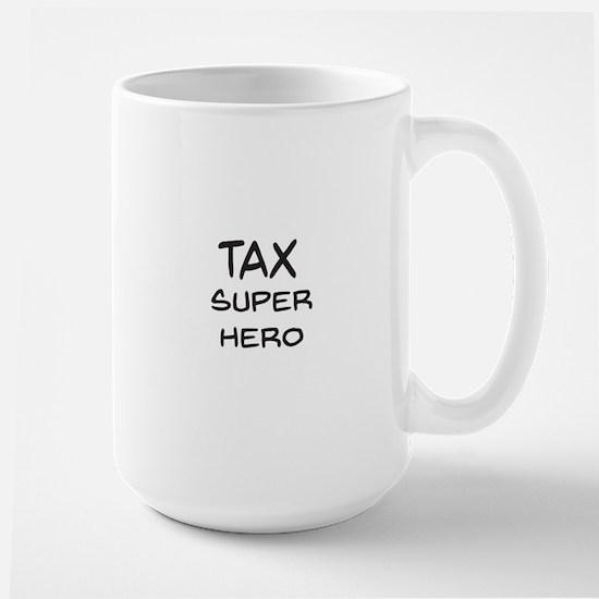 Tax Super Hero Mugs
