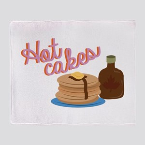 Hot Cakes Throw Blanket