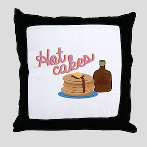Hot Cakes Throw Pillow