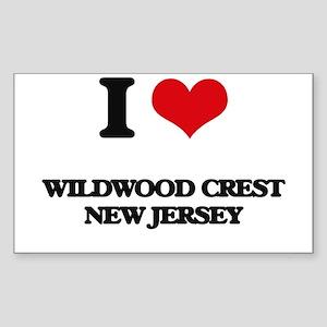 I love Wildwood Crest New Jersey Sticker