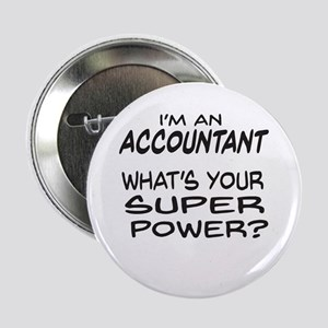 "Accountant Super Power 2.25"" Button (10 pack)"