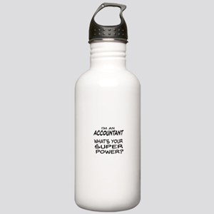 Accountant Super Power Water Bottle